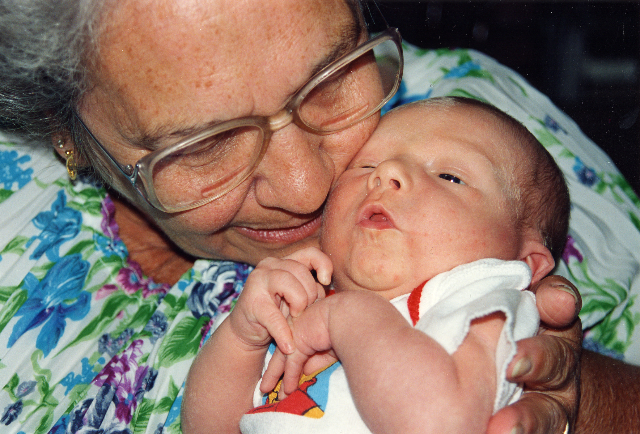 Grandma and Baby Photo by Caroline Brown