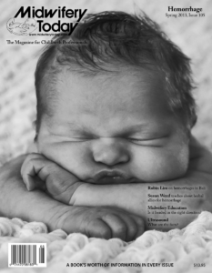Midwifery Today Issue 105