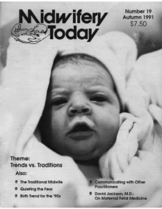Midwifery Today Issue 19