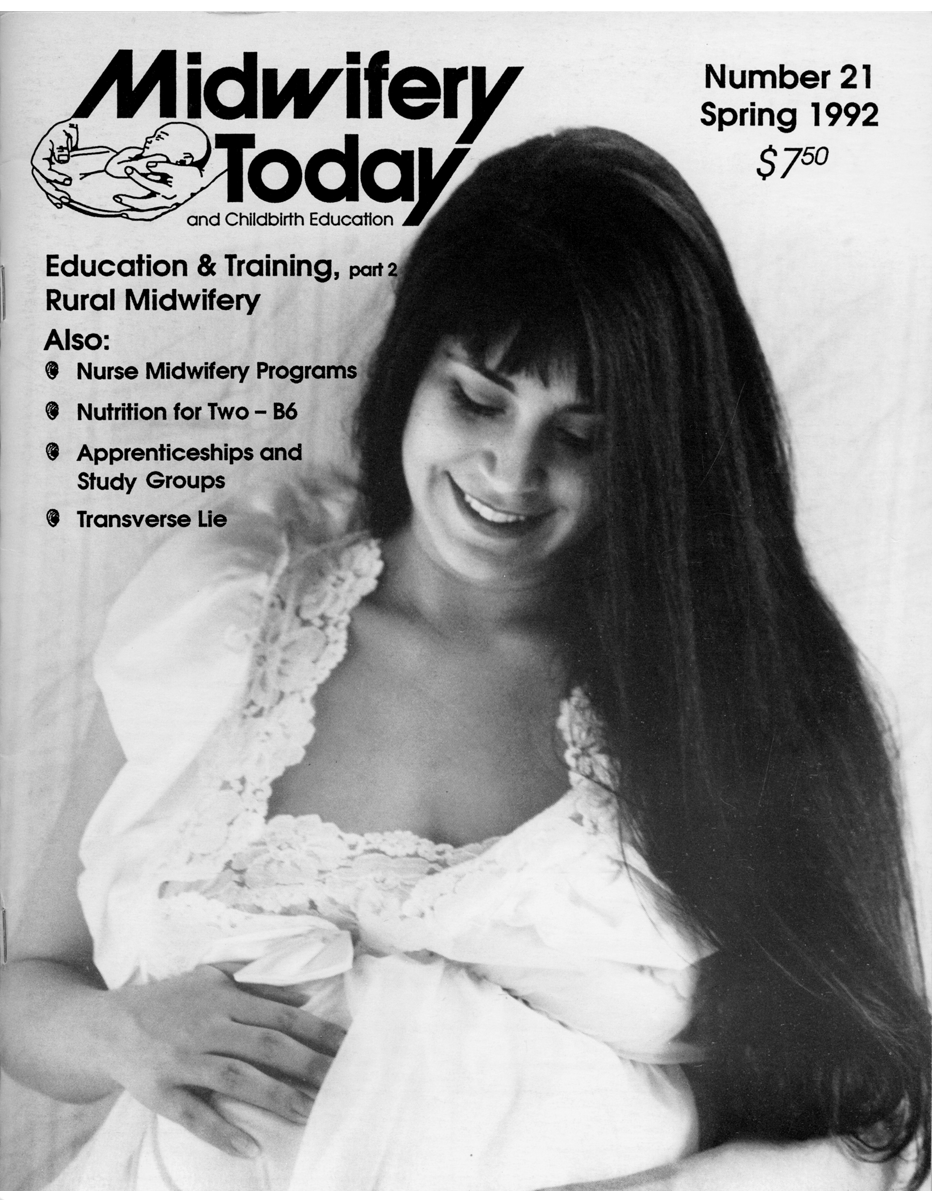 Midwifery Today Issue 21
