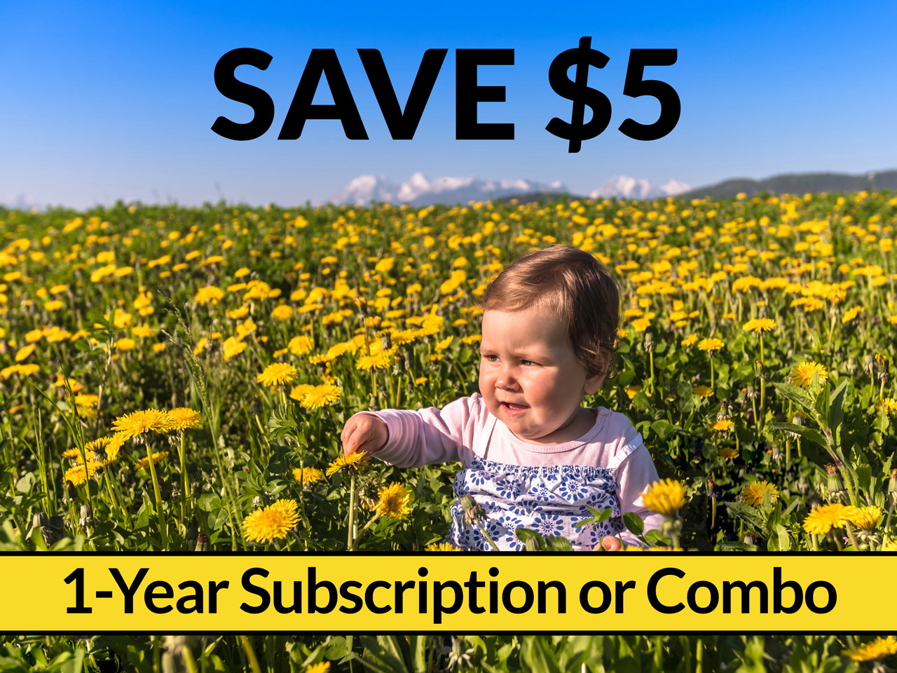 Save $5 on a 1-year Midwifery Today subscription. Or save $5 on a 1-year print subscription and Website Membership combo. Use code 4019mtoc when you check out.